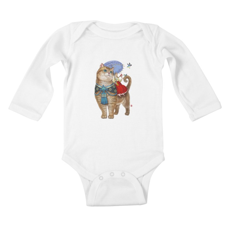 Hosico Hanbok Kids Baby Longsleeve Bodysuit by Hosico's Shop