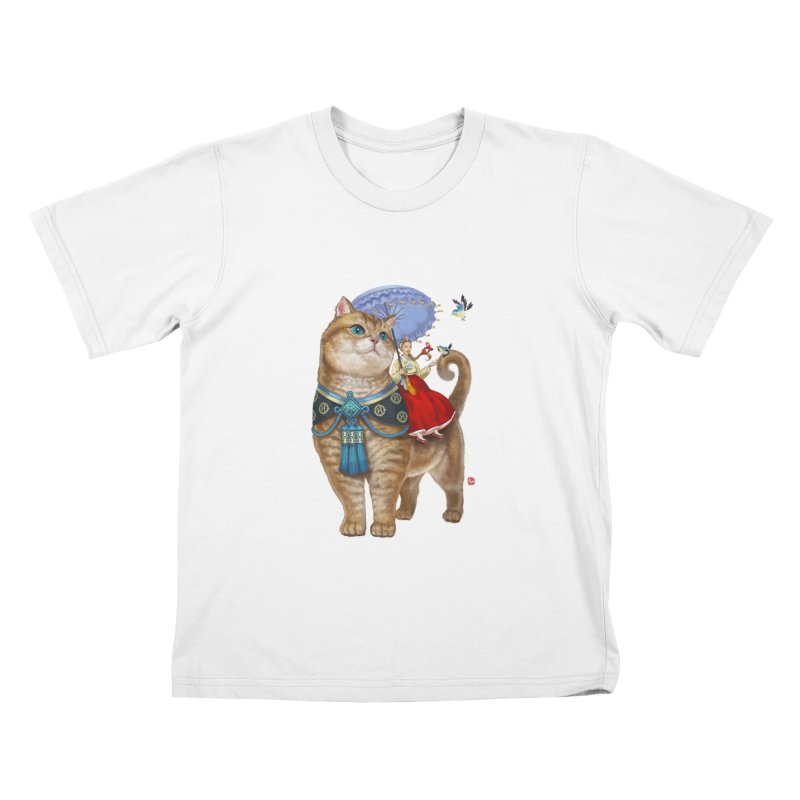 Hosico Hanbok Kids T-Shirt by Hosico's Shop