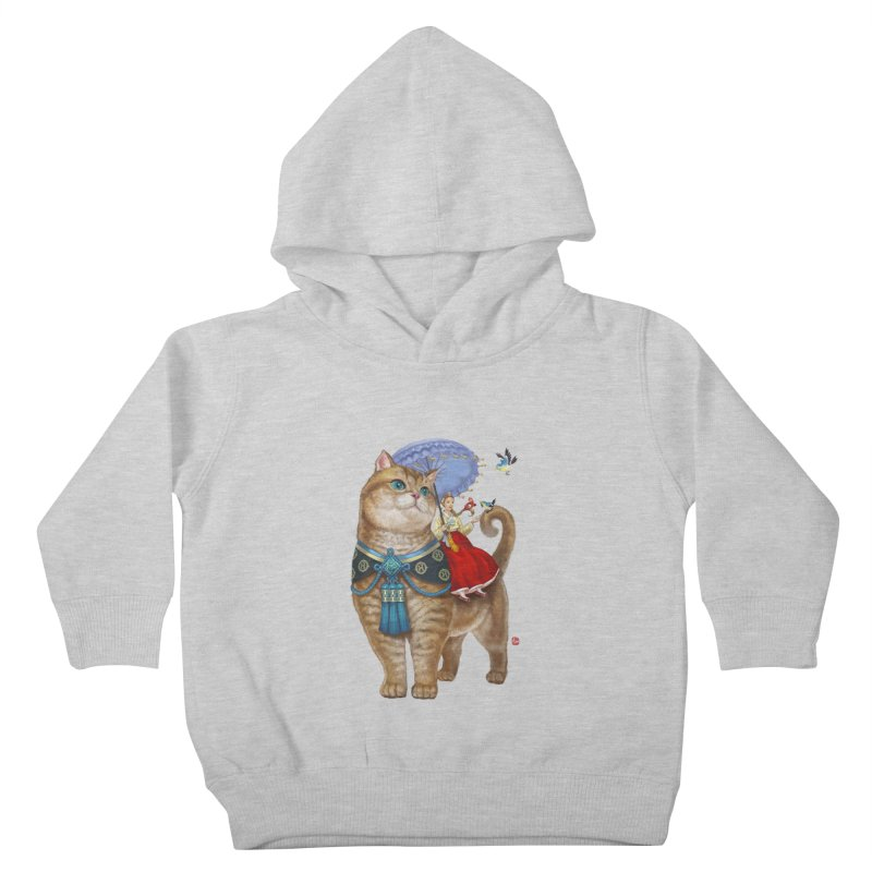 Hosico Hanbok Kids Toddler Pullover Hoody by Hosico's Shop