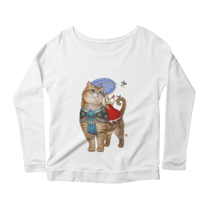Hosico Hanbok Women's Scoop Neck Longsleeve T-Shirt by Hosico's Shop