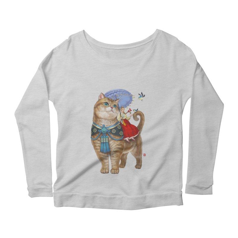 Hosico Hanbok Women's Scoop Neck Longsleeve T-Shirt by Hosico's Shop