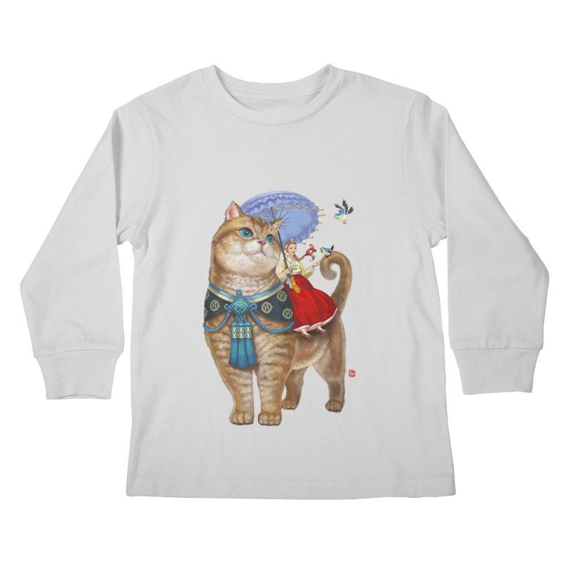 Hosico Hanbok Kids Longsleeve T-Shirt by Hosico's Shop