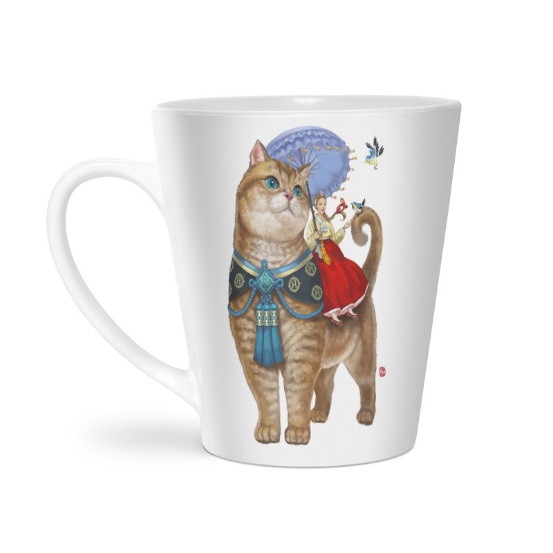 Hosico Hanbok Accessories Latte Mug by Hosico's Shop