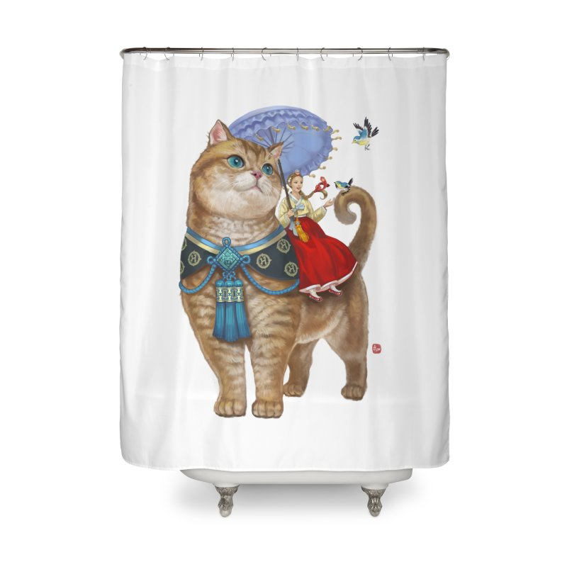 Hosico Hanbok Home Shower Curtain by Hosico's Shop