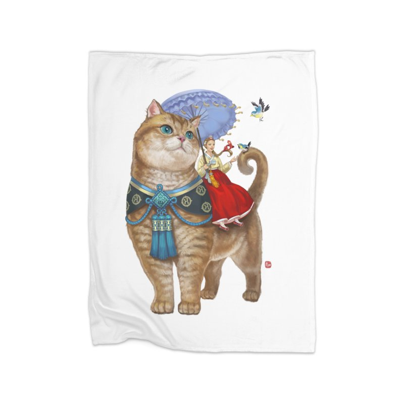 Hosico Hanbok Home Fleece Blanket Blanket by Hosico's Shop