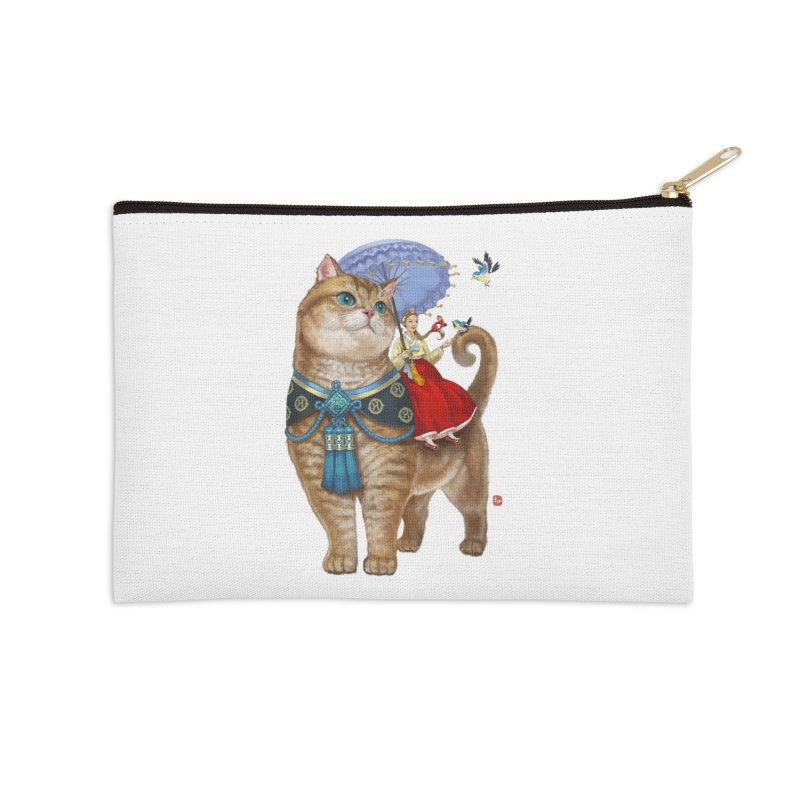 Hosico Hanbok Accessories Zip Pouch by Hosico's Shop
