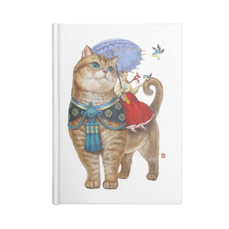 Hosico Hanbok Accessories Blank Journal Notebook by Hosico's Shop