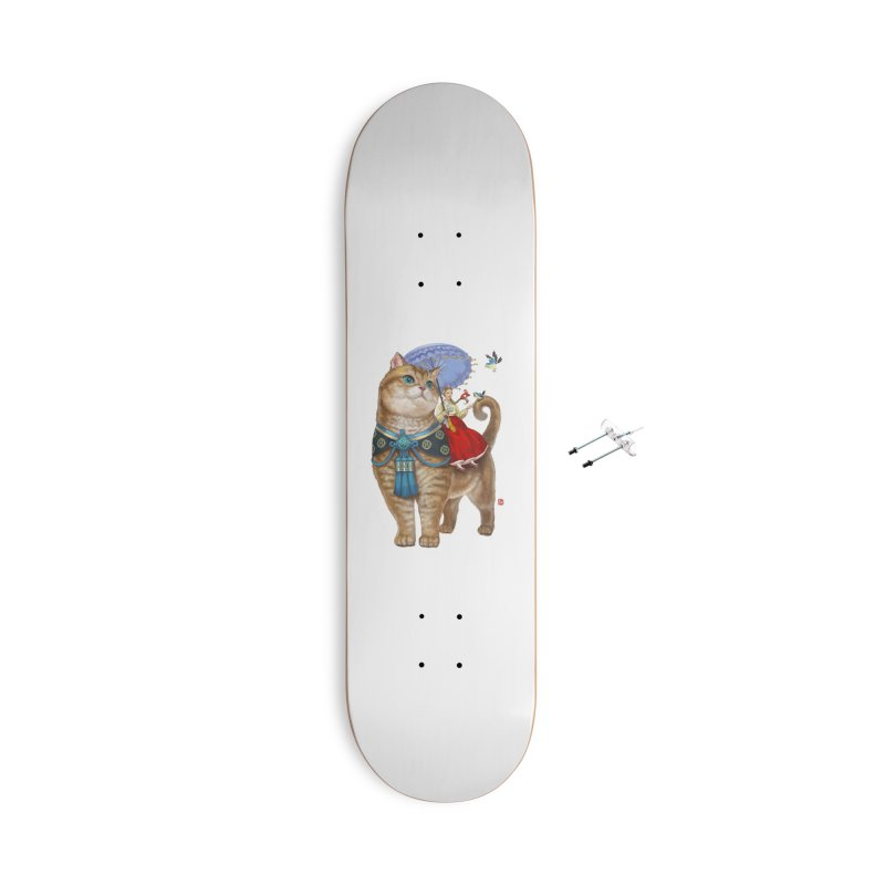 Hosico Hanbok Accessories Skateboard by Hosico's Shop