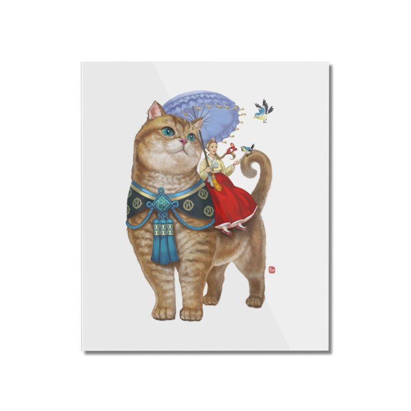 Hosico Hanbok Home Mounted Acrylic Print by Hosico's Shop