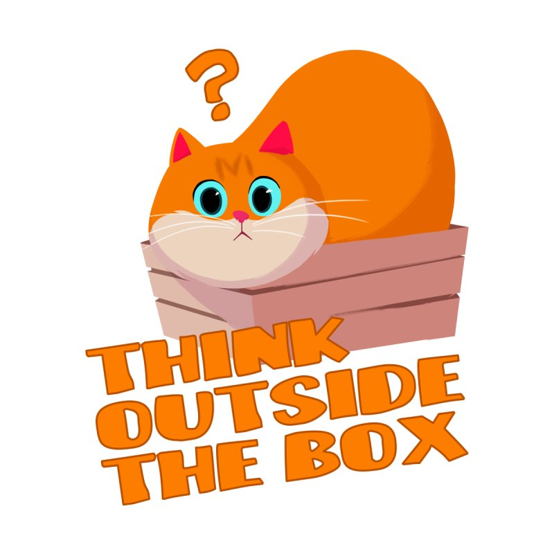 Think outside the Box? Home Mounted Aluminum Print by Hosico's Shop