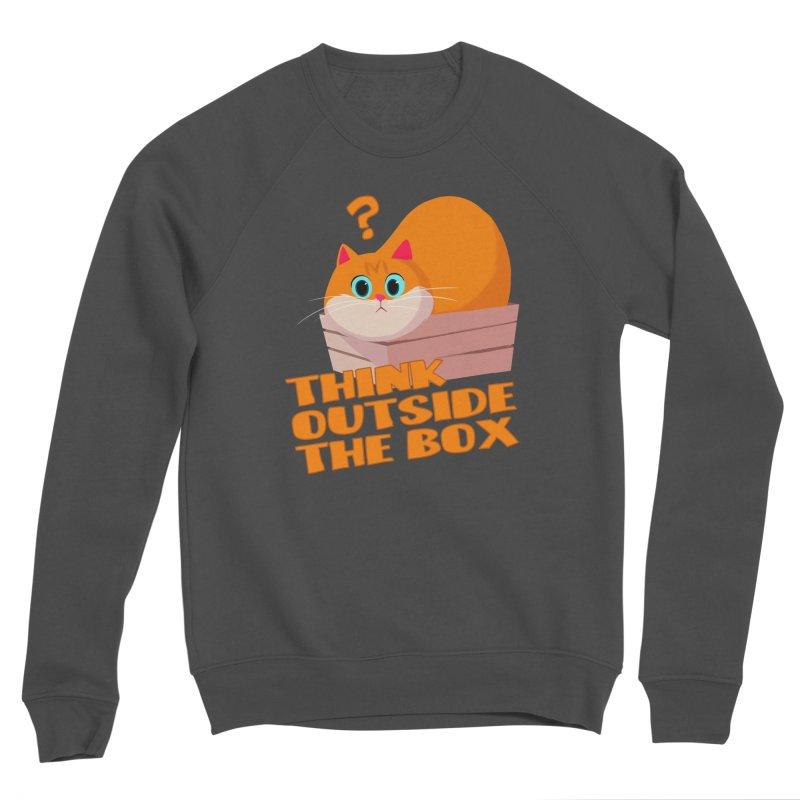 Think outside the Box? Women's Sponge Fleece Sweatshirt by Hosico's Shop