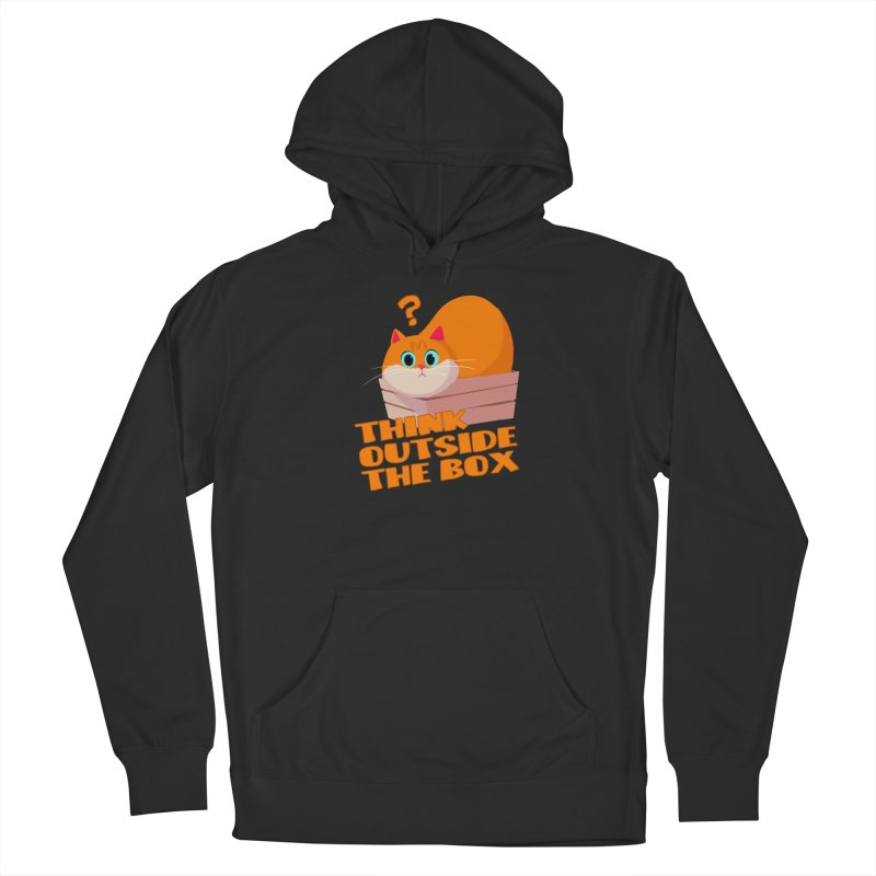 Think outside the Box? Men's Pullover Hoody by Hosico's Shop