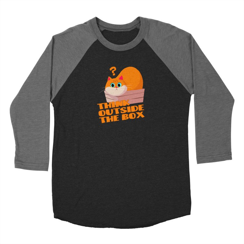 Think outside the Box? Women's Longsleeve T-Shirt by Hosico's Shop