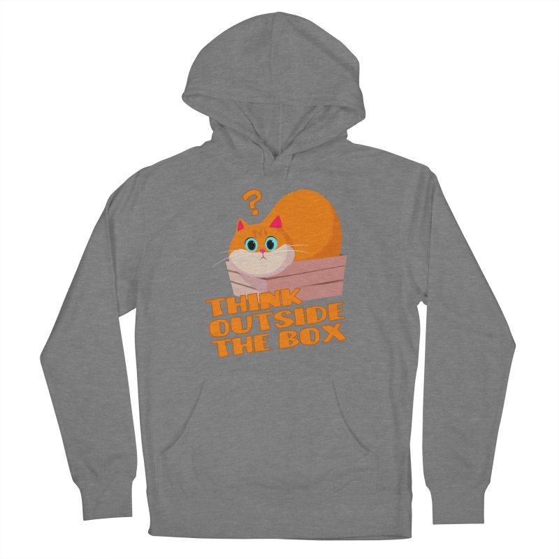 Think outside the Box? Women's French Terry Pullover Hoody by Hosico's Shop