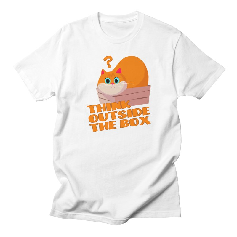 Think outside the Box? Women's Regular Unisex T-Shirt by Hosico's Shop