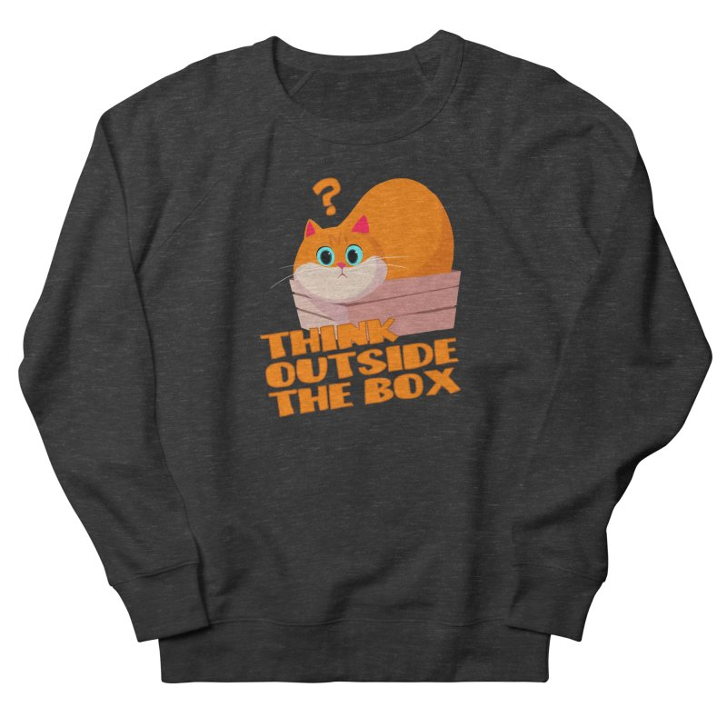 Think outside the Box? Men's French Terry Sweatshirt by Hosico's Shop