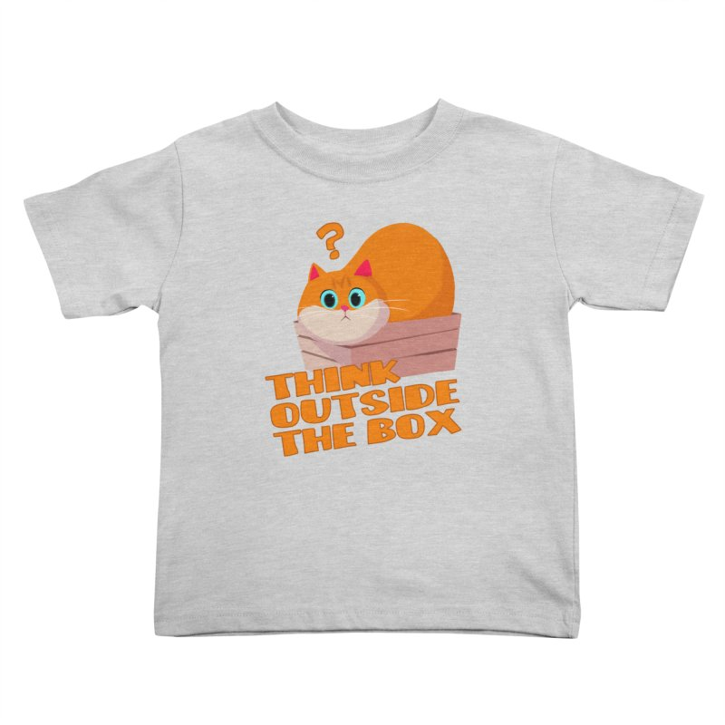 Think outside the Box? Kids Toddler T-Shirt by Hosico's Shop