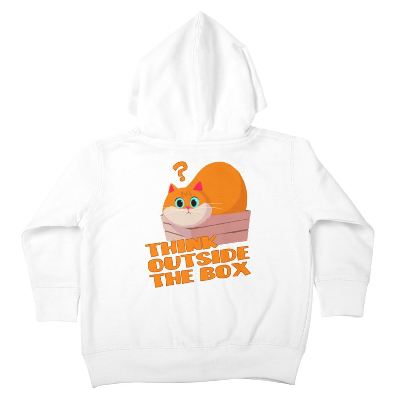 Think outside the Box? Kids Toddler Zip-Up Hoody by Hosico's Shop