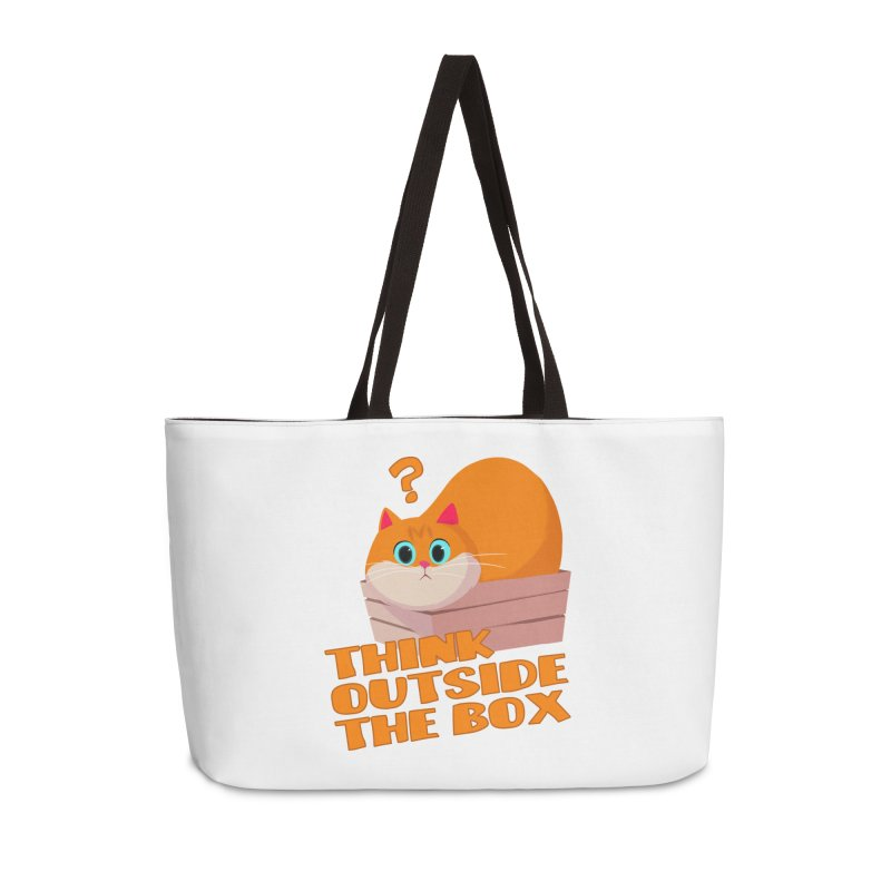 Think outside the Box? Accessories Weekender Bag Bag by Hosico's Shop