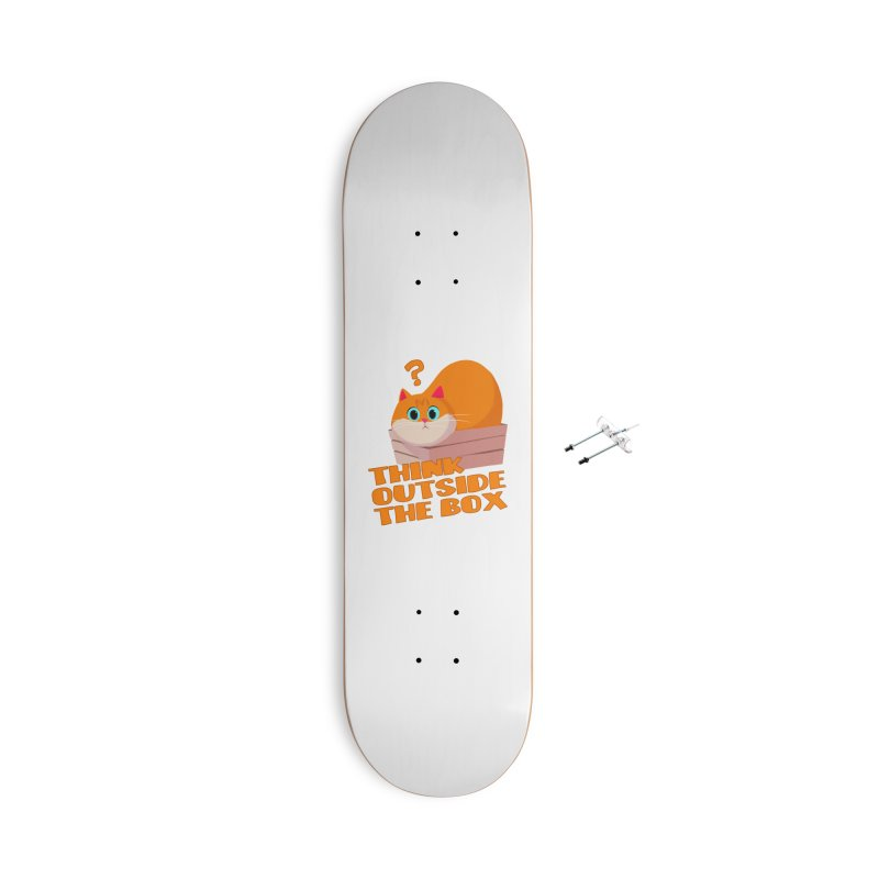 Think outside the Box? Accessories With Hanging Hardware Skateboard by Hosico's Shop