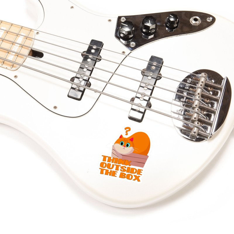 Think outside the Box? Accessories Sticker by Hosico's Shop