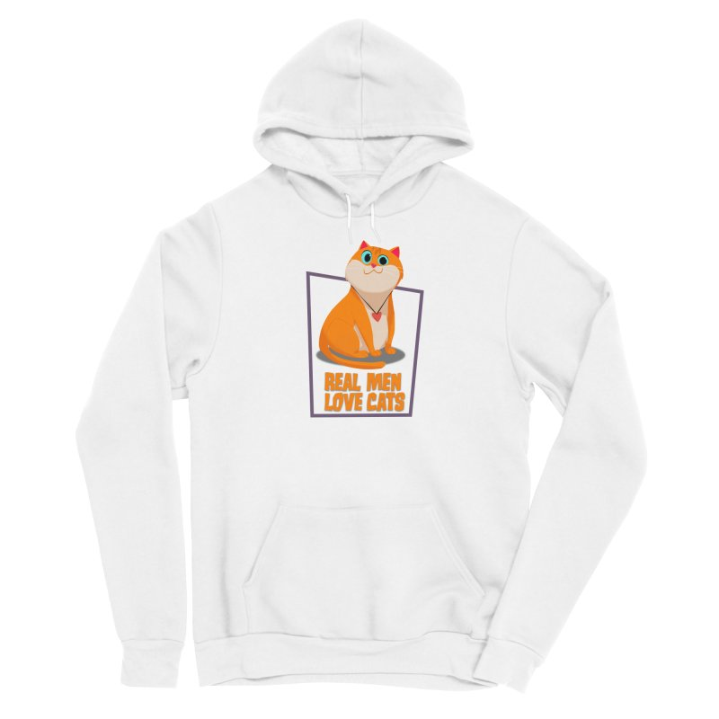 Real Men Love Cats Women's Pullover Hoody by Hosico's Shop