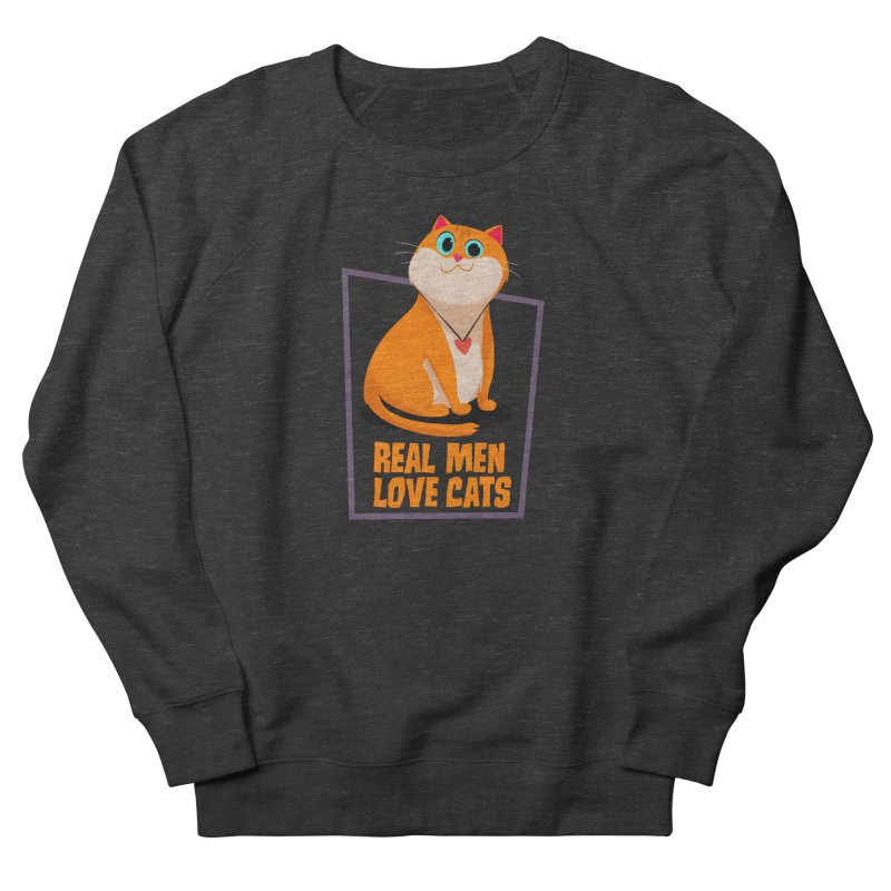 Real Men Love Cats Women's Sweatshirt by Hosico's Shop