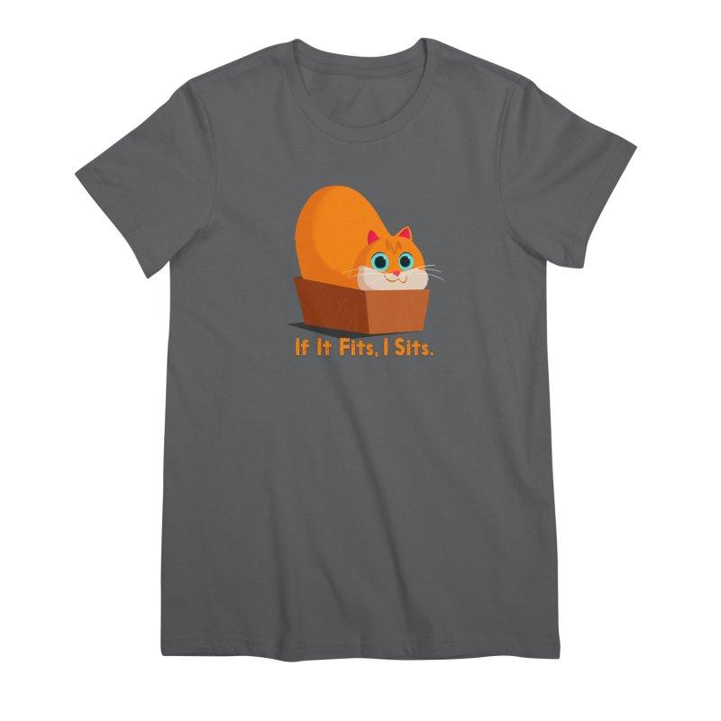 If it fits, i sits Women's Premium T-Shirt by Hosico's Shop