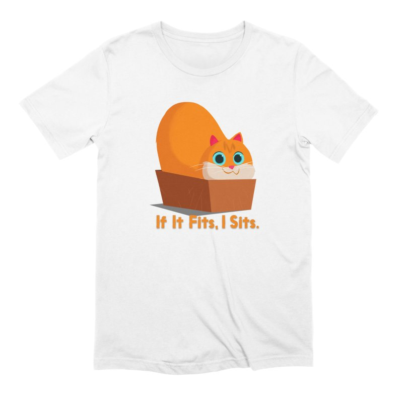 If it fits, i sits Men's Extra Soft T-Shirt by Hosico's Shop