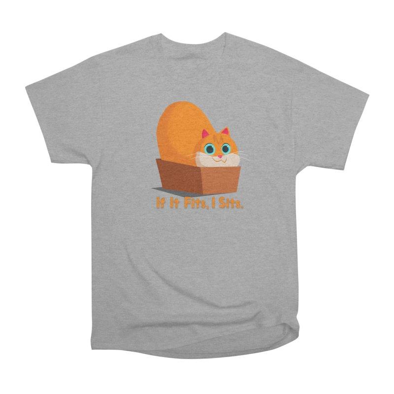 If it fits, i sits Men's Heavyweight T-Shirt by Hosico's Shop