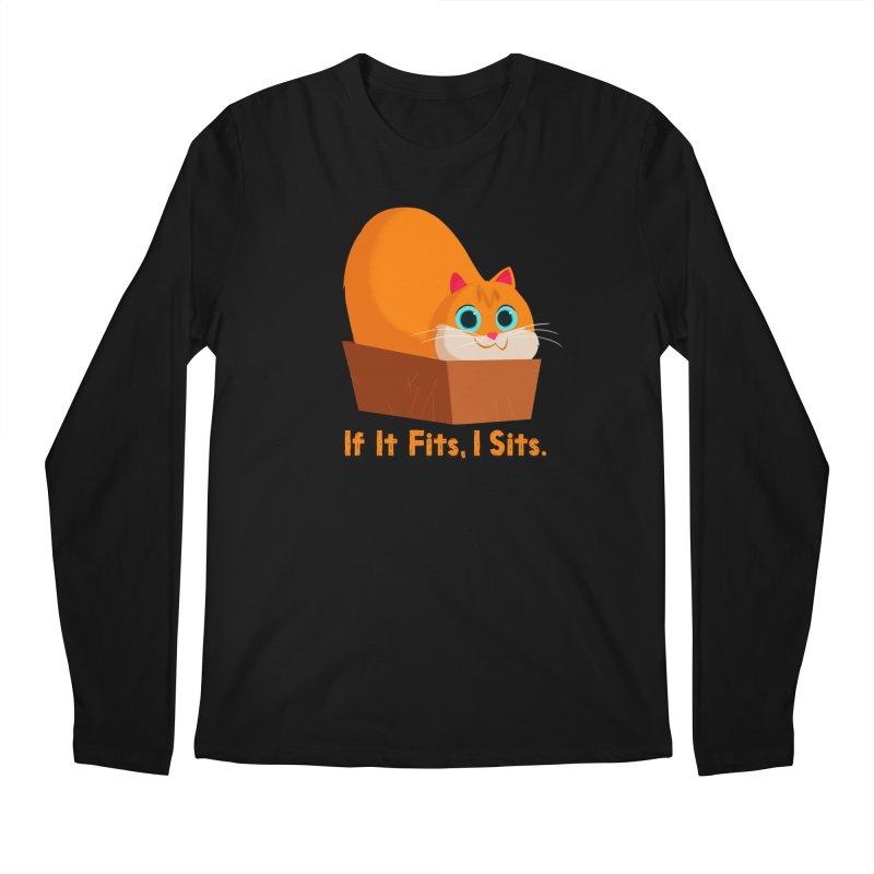 If it fits, i sits Men's Regular Longsleeve T-Shirt by Hosico's Shop
