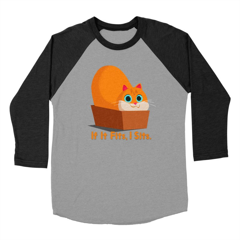 If it fits, i sits Women's Baseball Triblend Longsleeve T-Shirt by Hosico's Shop