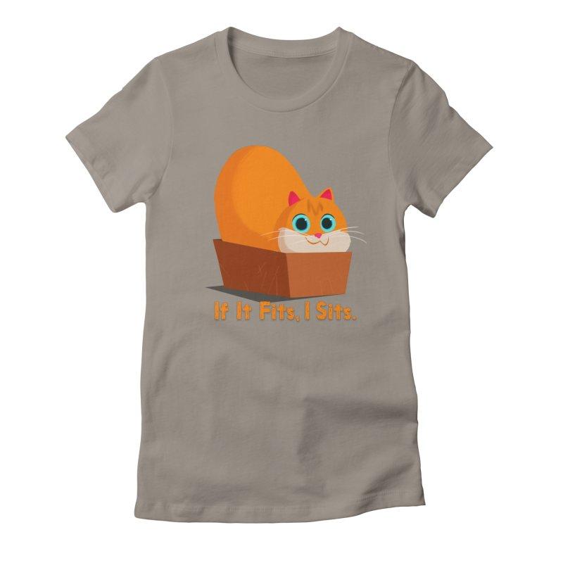 If it fits, i sits Women's T-Shirt by Hosico's Shop