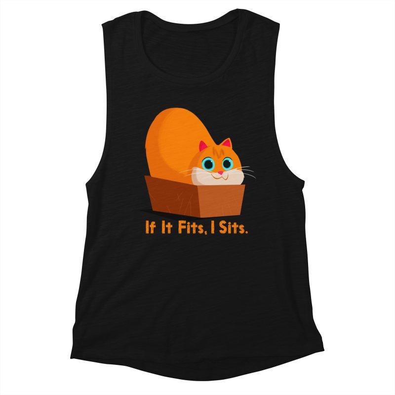 If it fits, i sits Women's Tank by Hosico's Shop