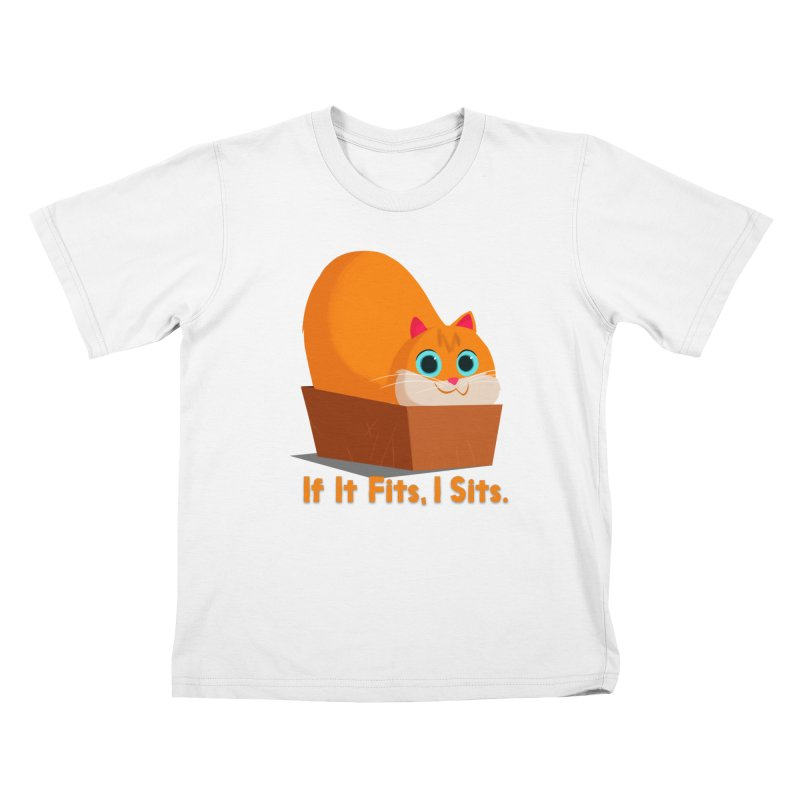 If it fits, i sits Kids T-Shirt by Hosico's Shop