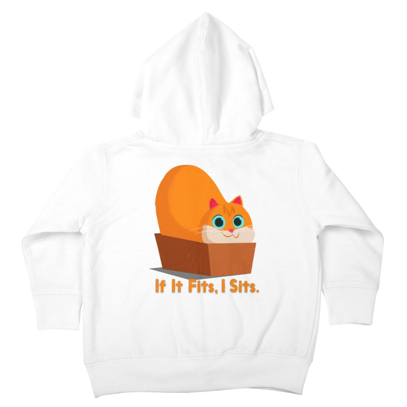 If it fits, i sits Kids Toddler Zip-Up Hoody by Hosico's Shop