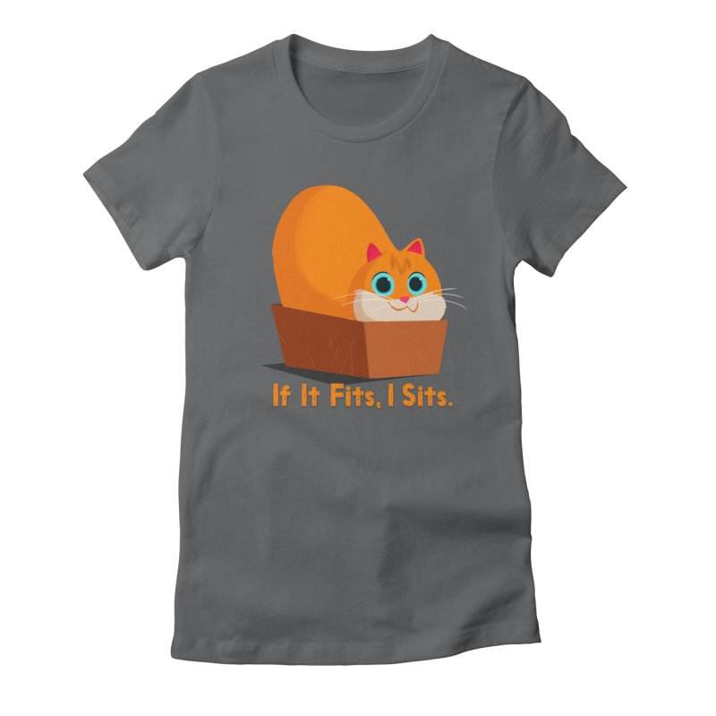 If it fits, i sits Women's Fitted T-Shirt by Hosico's Shop