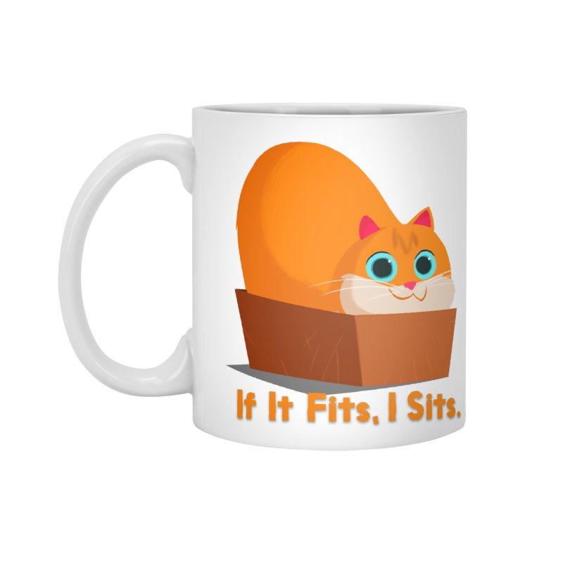 If it fits, i sits Accessories Standard Mug by Hosico's Shop