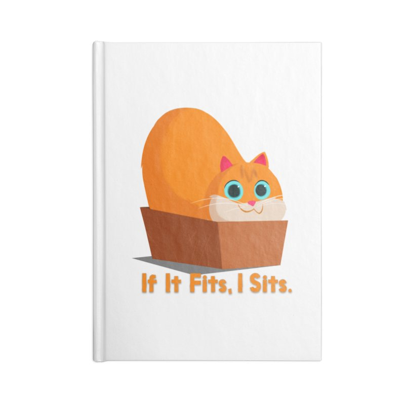 If it fits, i sits Accessories Lined Journal Notebook by Hosico's Shop