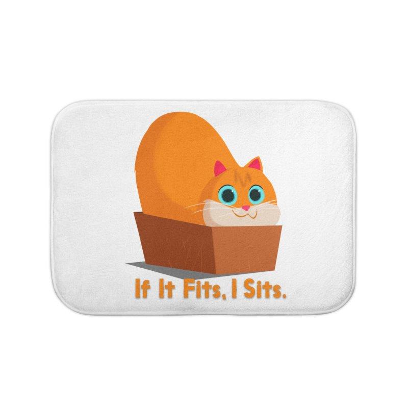 If it fits, i sits Home Bath Mat by Hosico's Shop