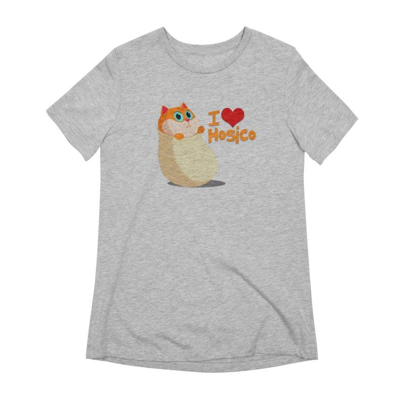 I Love Hosico Women's T-Shirt by Hosico's Shop
