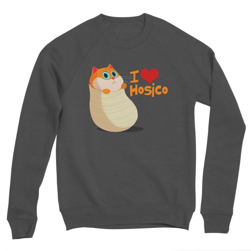 I Love Hosico Women's Sponge Fleece Sweatshirt by Hosico's Shop