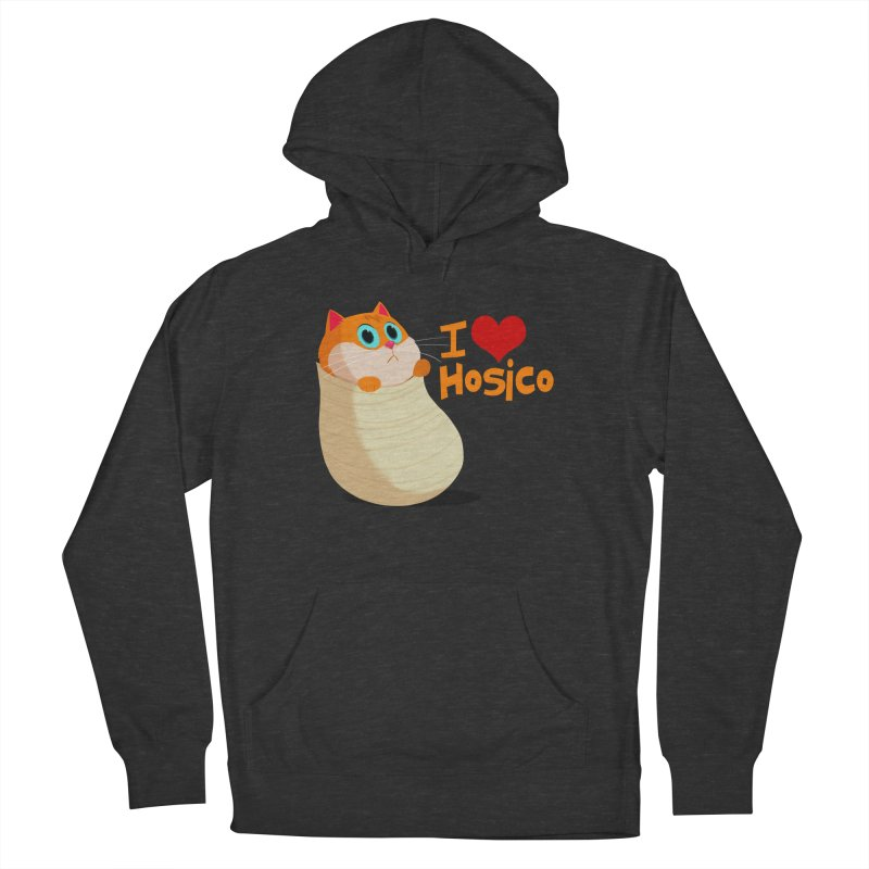 I Love Hosico Men's Pullover Hoody by Hosico's Shop