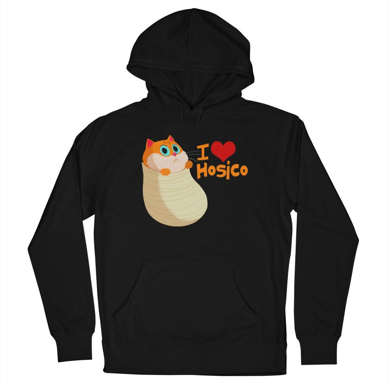 I Love Hosico Women's French Terry Pullover Hoody by Hosico's Shop