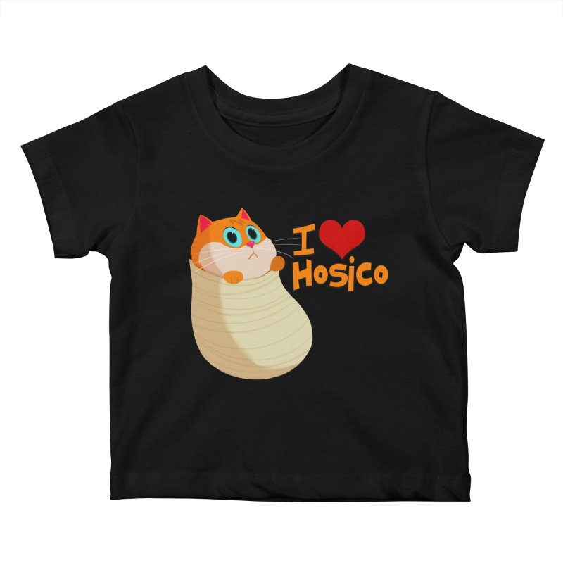 I Love Hosico Kids Baby T-Shirt by Hosico's Shop
