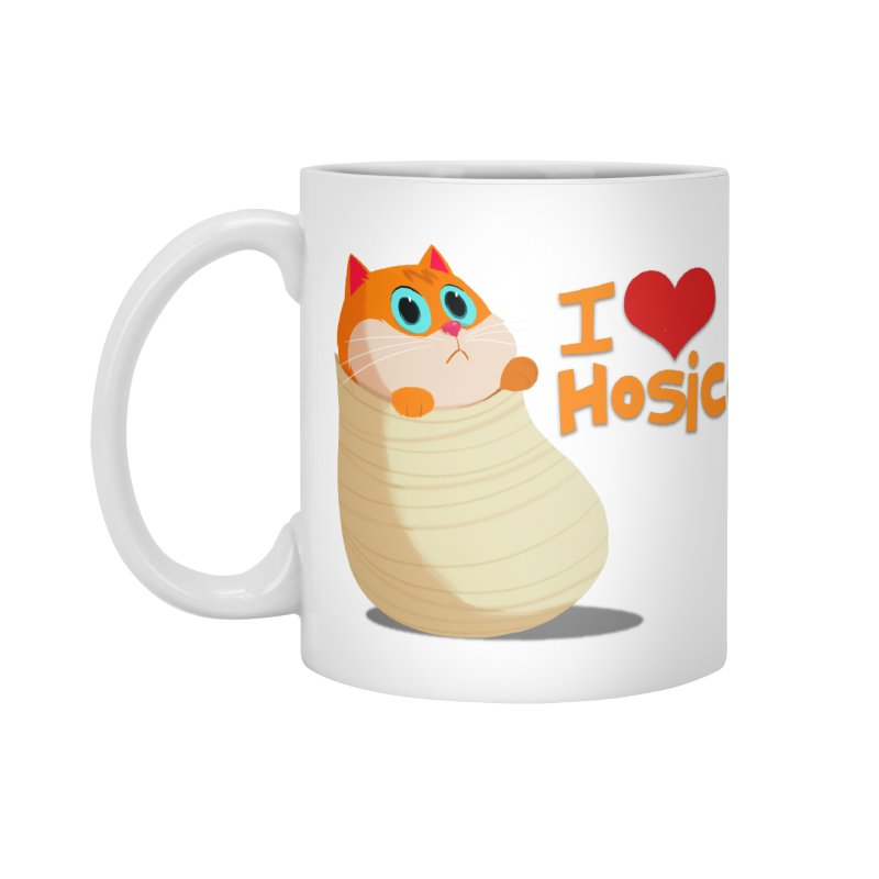 I Love Hosico Accessories Standard Mug by Hosico's Shop