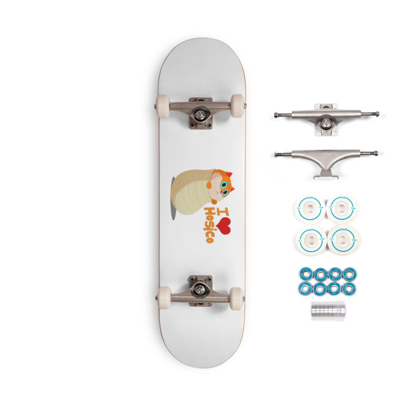 I Love Hosico Accessories Complete - Basic Skateboard by Hosico's Shop