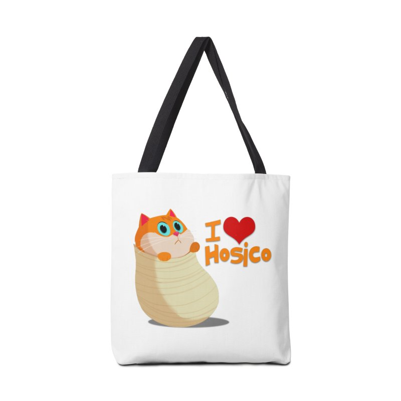 I Love Hosico Accessories Tote Bag Bag by Hosico's Shop