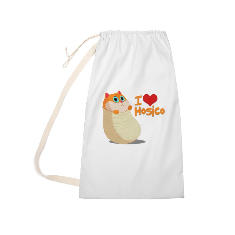I Love Hosico Accessories Laundry Bag Bag by Hosico's Shop