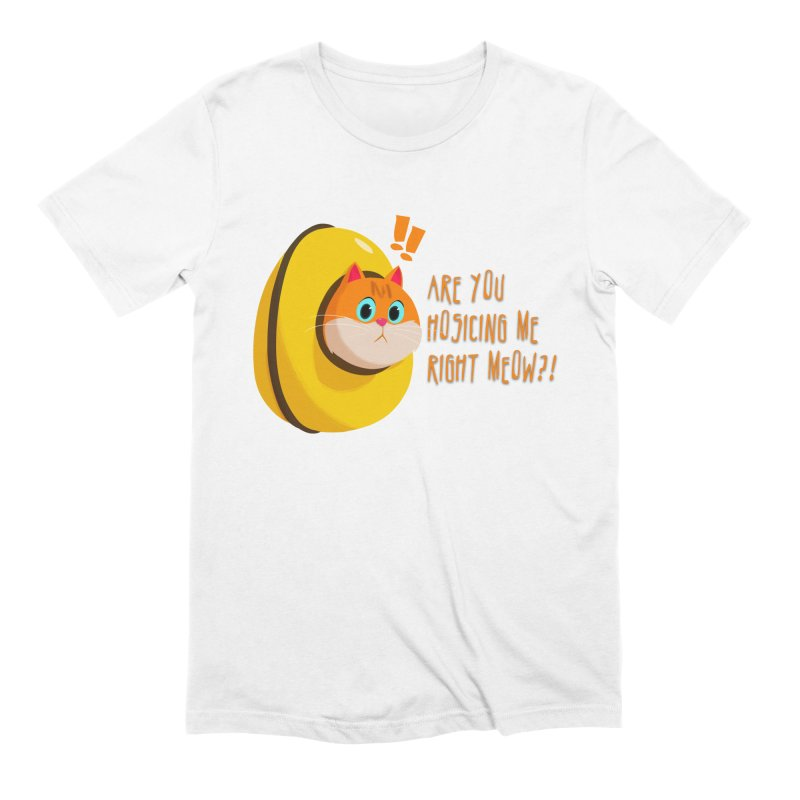 Are you Hosicing me right Meow?! Men's Extra Soft T-Shirt by Hosico's Shop